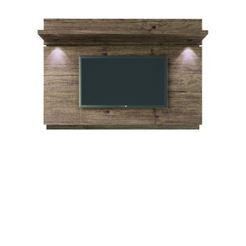 Park 1.8 Floating Wall TV Panel with LED Lights in Nature