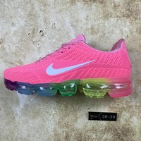KUYOU N071 Nike Air Vapormax Flyknit 2018 Breathable Sneaker Running Shoes Pink