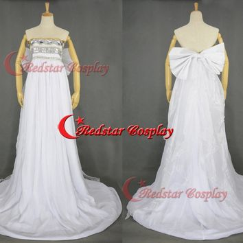 Neo Queen Serenity Cosplay dress from Sailor Moon Princess Serenity Wedding dress style 2