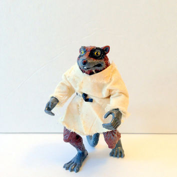 TMNT Master Splinter // Vintage Teenage Mutant Ninja Turtles Master Splinter Action Figure // Vintage Collectible Toy // TMNT Splinter
