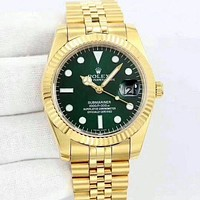 Rolex Lover Unisex Fashion Quartz Movement Watch F