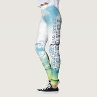 TEE Rule the World Leggings