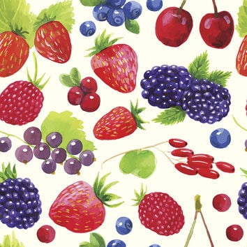 Fruit Salad Removable Wallpaper