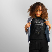Frida - Hand Drawn - Portrait - Latina Feminist T-Shirt