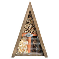 """11"""" Insect House, Brown, Feeders, Houses & Bird Baths"""