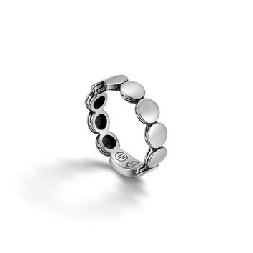 John Hardy dot collection slim band ring