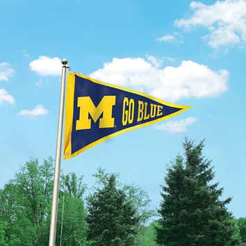 NCAA Team GIANT PENNANT FLAG