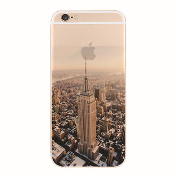 New York iPhone 5S 6 6S Plus creative case + Gift Box-127