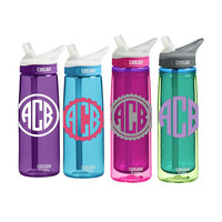 CamelBak 0.75 Eddy or 0.6 L Insulated CamelBak Eddy Personalized Monogram Water Bottle Sports bottles Name water bottle Gift