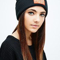 Eleven Paris Beanie in Black - Urban Outfitters