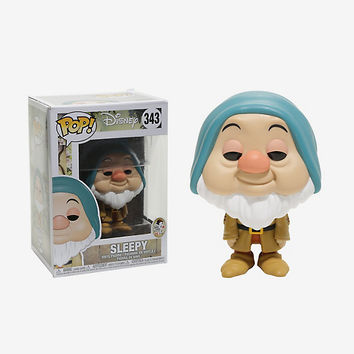 Funko Disney Snow White And The Seven Dwarfs Pop! Sleepy Vinyl Figure
