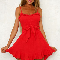 Silicon Valley Dress Red