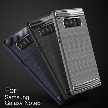 For Samsung note 8 case cover Myriann Note 8 case for samsung galaxy note 8, carbon fiber case cover