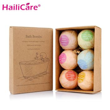 Set of 6 Handmade Bath Bombs
