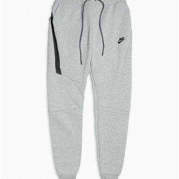 Nike Men's NSW Sportswear Tech Fleece Jogger Grey Heather Black Pants