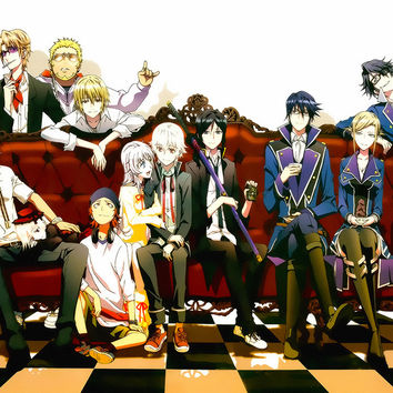K Project Characters Anime Poster