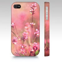 It's a Sweet, Sweet, Life - iPhone 3g, 3gs, 4, 5, iPod Touch 4th Gen, Pink, Romantic, Girl, Flowers, Wildflowers, Floral, Country