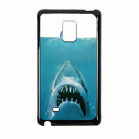 Jaws Parody Eat Apple Samsung Galaxy Note Edge Case