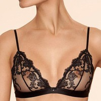 SOFT SHEER LACE TRIANGLE BRA AJOUR ELEGY (AJ3922)