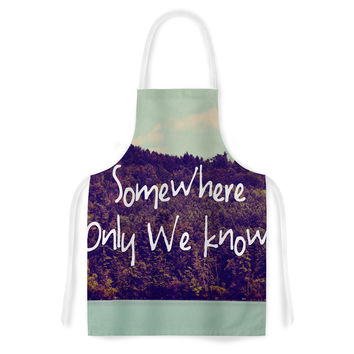 "Rachel Burbee ""Somewhere"" Artistic Apron"