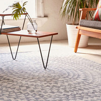 Sibo Stamp Printed Rug - Urban Outfitters