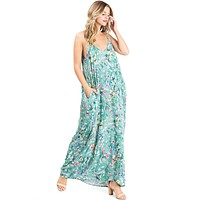 Bloom Texture Maxi Dress