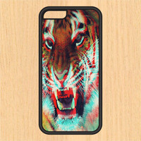 Trippy Tiger V1 PC SEC1 Print Design Art iPhone 4 / 4s / 5 / 5s / 5c /6 / 6s /6+ Apple Samsung Galaxy S3 / S4 / S5 / S6