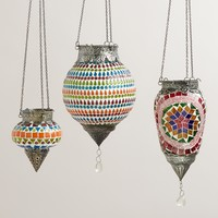 Mosaic Abhati Hanging Lanterns - World Market