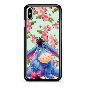 Eeyore Disney Donkey Vintage iPhone X Case