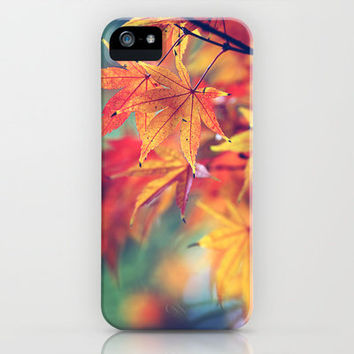 fall leaves iPhone Case by Sylvia Cook Photography | Society6