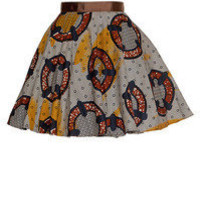 Style Icon's Closet 50s style Vintage Inspired Pin-Up African Print Retro Rockabilly Clothing — African Print Full Circle Skirt
