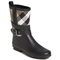Women's Burberry 'Holloway' Rain Boot,
