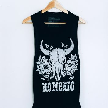 No Meato Muscle Tee