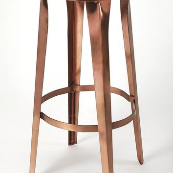 Ulrich Copper Backless Bar Stool