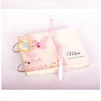 Blank Scrapbook Album Christmas Gift for Mother Memory Book for Precious moments