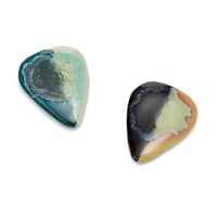 Glass Glazed Stoneware Guitar Picks