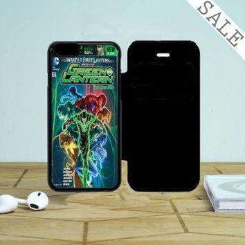DCKL9 Green Lantern Hal Jordan iPhone 5 Flip Case