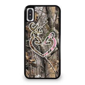 CAMO BROWNING LOVE-PHONE 5 iPhone 5/5S/SE 5C 6/6S 7 8 Plus X/XS Max XR Case Cover