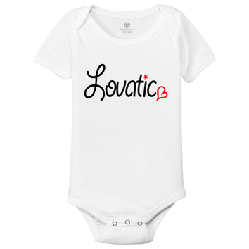 Lovatic Baby Onesuits