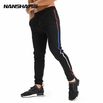 2017 Autumn Winter New High Quality Jogger Pants Men Fitness Bodybuilding Gyms Pants For Runners Brand Clothing Sweat Trousers
