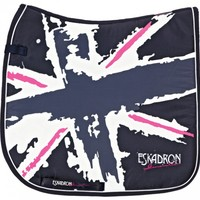 Eskadron Saddle Pad UK-Style Navy Denim | Ooteman Equestrian