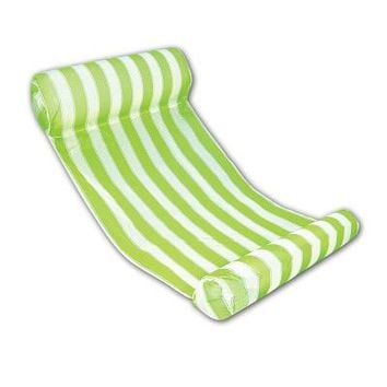 Swimming Pool beach 4 Color Stripe Floating Sleeping Bed Water Pool Float Lounger Chair Float Inflatable Mattress  AccessoriesSwimming Pool beach KO_14_1