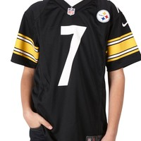 Nike NFL Pittsburgh Steelers Ben Roethlisberger Youth Replica Football Jersey, Black