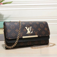 Louis Vuitton Woman Leather Fashion Crossbody Shoulder Bag Satchel