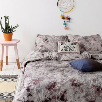 Acid Wash Double Duvet Cover - Urban Outfitters