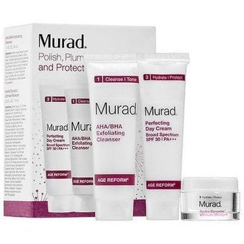 MURAD Polish Plump + Protect Skincare Kit