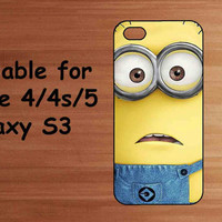 Dispicable Me iPhone Case Samsung Galaxy S3 Case by subcases