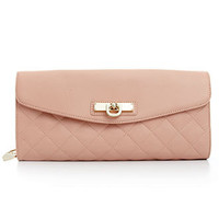 DKNY Handbag, Quilted Nappa Clutch with Chain Handle - All Handbags - Handbags & Accessories - Macy's