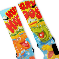 Hungry Hippos Custom Nike Elite Socks