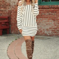 As I Am Thermal Knit Tunic (Ivory)